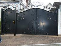Кованые ворота В-48, фото 1