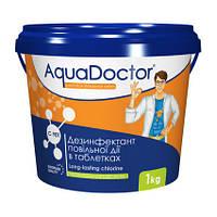 Хлор длительного действия AquaDoctor C-90T 1 кг