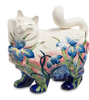 Фарфоровая статуэтка Кошка (Pavone) JP-11/20