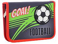 Пенал YES твердый одинарний Football 531771