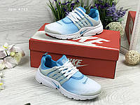 Женские Кроссовки  Nike Air Presto Голубые