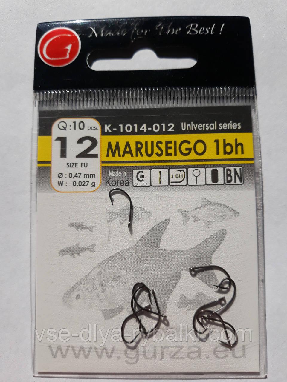 Крючки Gurza maruseigo № 12