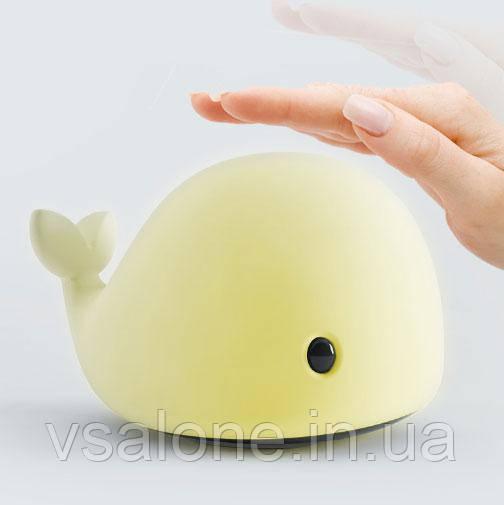Нічник Світильник тач у вигляді кита