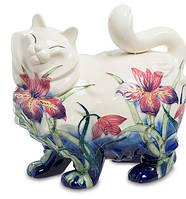 Фарфоровая статуэтка Кошка (Pavone) JP-11/19
