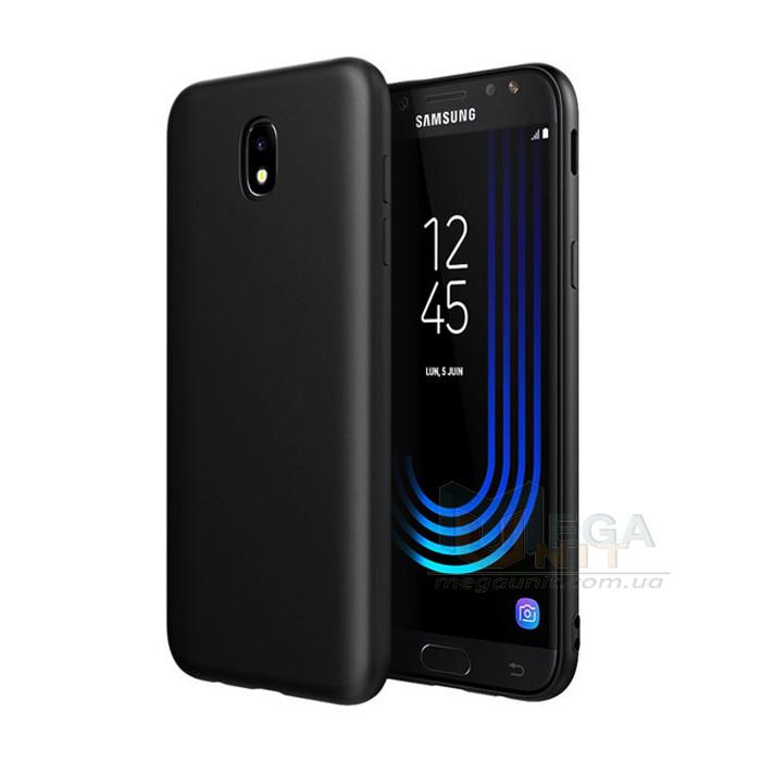 Силиконовый чехол для Samsung Galaxy J7-2017 (J730) с матовым покрытием