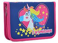 Пенал YES твердый одинарний Unicorn 531787
