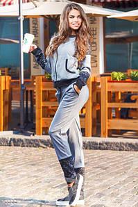Спортивный костюм женский Gepur Fancy 13322, прогулочный костюм, костюм для занятий спортом