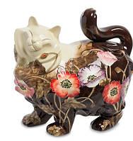 Фарфоровая статуэтка Кошка (Pavone) JP-11/ 1