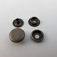 Кнопка №61 15мм Антик (50шт.)