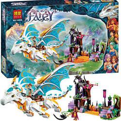 """Конструктор Bela Fairy 10550 """"Спасение королевы драконов"""", 841 деталей. (Аналог Лего 41179)"""