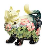 Фарфоровая статуэтка Кошка (Pavone) JP-11/15