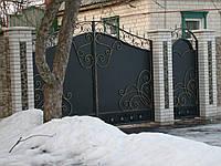 Ковані ворота В-50