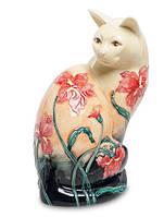 Фарфоровая статуэтка Кошка (Pavone) JP-11/ 2