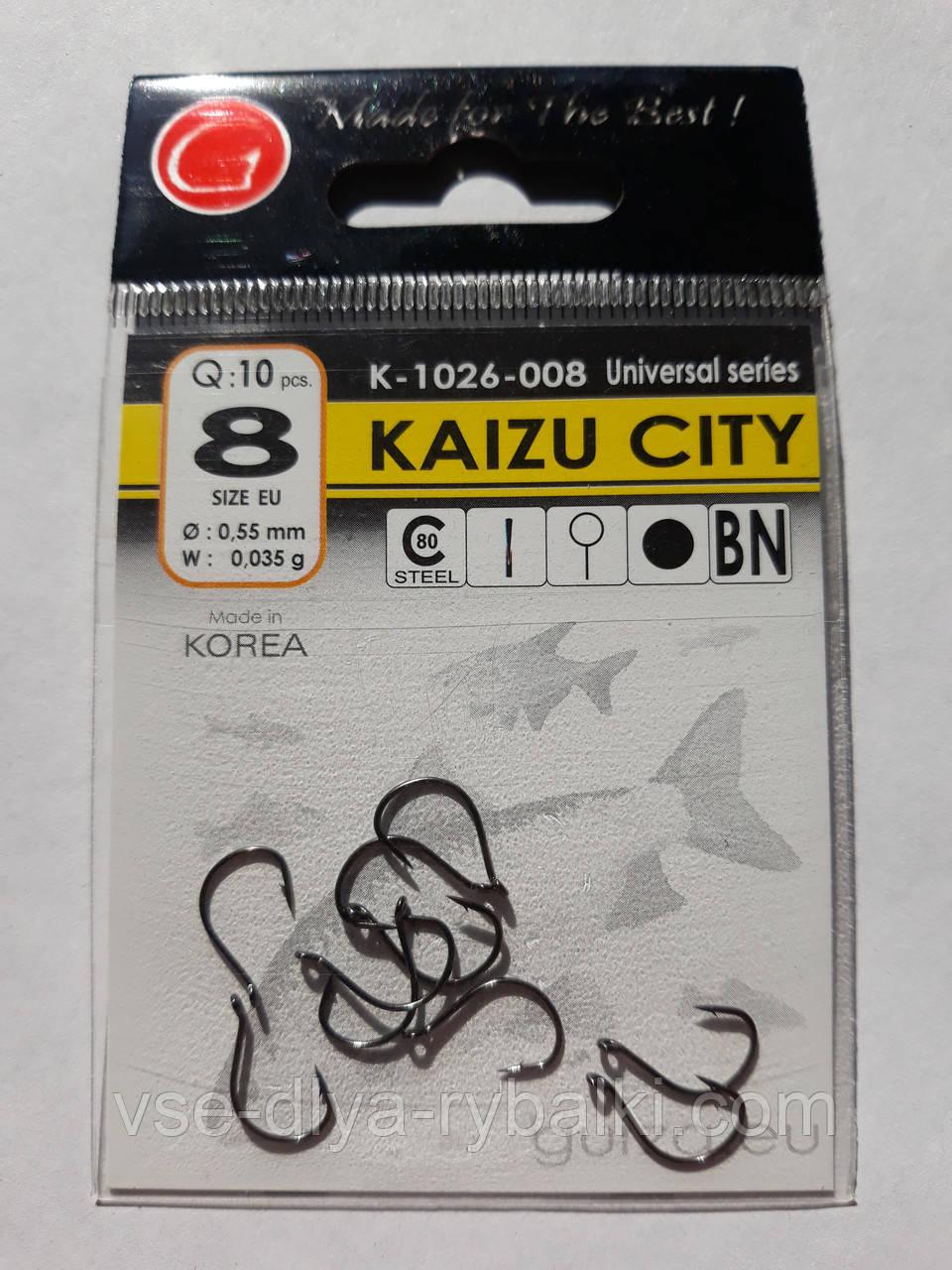 Крючки Gurza kaizu city № 8