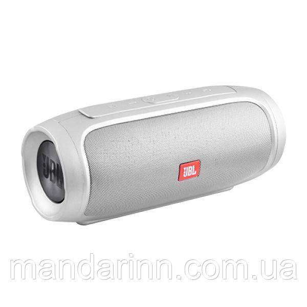 Портативная акустическая система JBL Charge 4 Silver с поддержкой Bluetooth