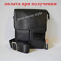 Мужская кожаная фирменная сумка барсетка BAIWEISHI Polo купить шкіряна