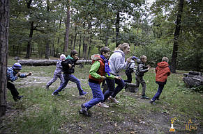 Детский квест в парке для мальчишек 8-9 лет.  1.10.2017 4