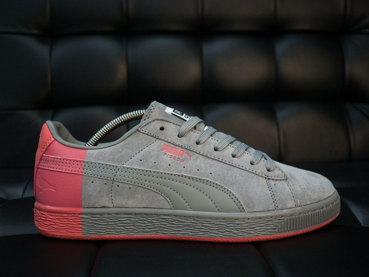 00297e9ff845 Мужские кроссовки Puma Suede кроссовки пума серые - Замша,подошва резина  ,размеры 40