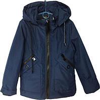 """Куртка детская демисезонная """"My Fushi"""" #8 для мальчиков. 6-7-8-9-10 лет. Синяя. Оптом., фото 1"""