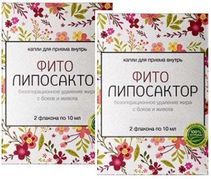 Фито Липосактор - комплекс для похудения (День,Ночь), 2 шт