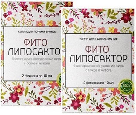 Фито Липосактор - комплекс для похудения (День,Ночь), 2 шт, фото 2