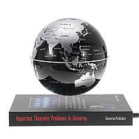 6 дюймов Вращающийся магнитный левитовский планер Плавающая планета Земли Карта Платформа Стиль Платформа Образование