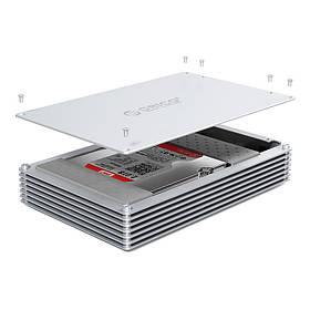 ORICO DY351C3 10Gbps Алюминиевый сплав Type-C Полый корпус жесткого диска для 3,5-дюймового жесткого диска SSD DIY Чехол-1TopShop