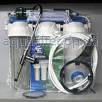 Четырехступенчатая система с капиллярной мембраной Aquafilter FP3-HJ-K1, фото 1