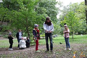 Квест для детей в ботаническом саду для Софии 9 лет  1.10.2017