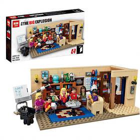 Конструктор Lepin 16024 Идеи Теория большого взрыва (аналог Lego Ideas 21302)