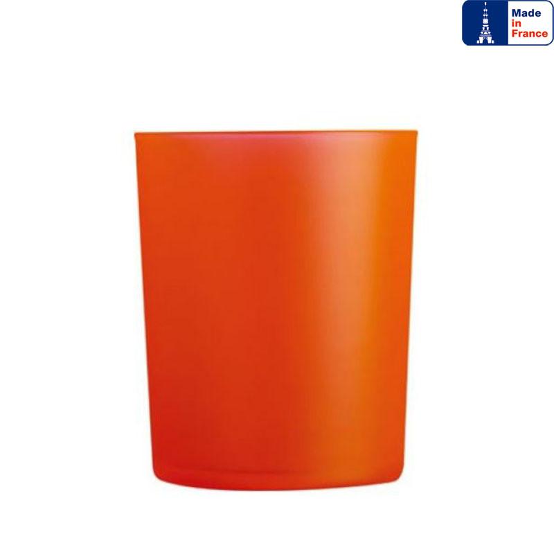 Стакан низкий Luminarc Dublin Orange 300 мл. из цветного стекла.