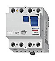 Выключатель дифференциального тока, 40А, 4пол. 300мА, тип АС