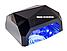 СЕНСОРНАЯ гибридная LED+CCFL лампа для ногтей 36 W Diamond, фото 5