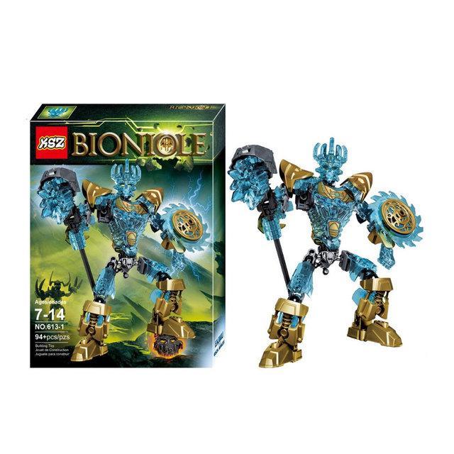 """Конструктор KSZ 613-1 Bionicle """"Мастер масок Экиму"""" 94 детали. Аналог Лего 71312"""