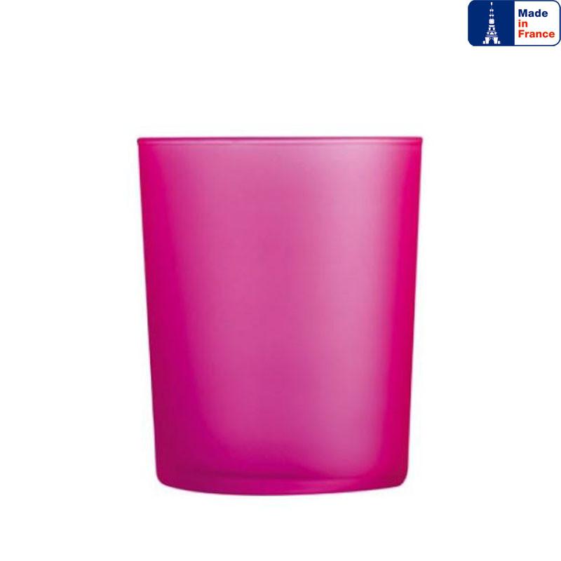 Стакан низкий Luminarc Dublin Pink 300 мл. из цветного стекла.