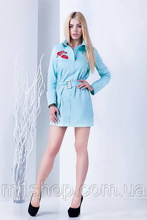 Женское джинсовое платье-рубашка (Палома mrb), фото 2