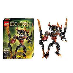 "Конструктор KSZ 613-2 Bionicle ""Лава-монстр"" 118 деталей. Аналог Лего 71313"