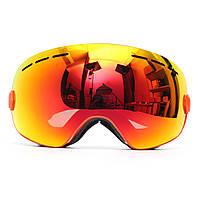 Сноуборд Противотуманные лыжные очки Два слоя Объектив Сферическая УФ-защита мотоцикл