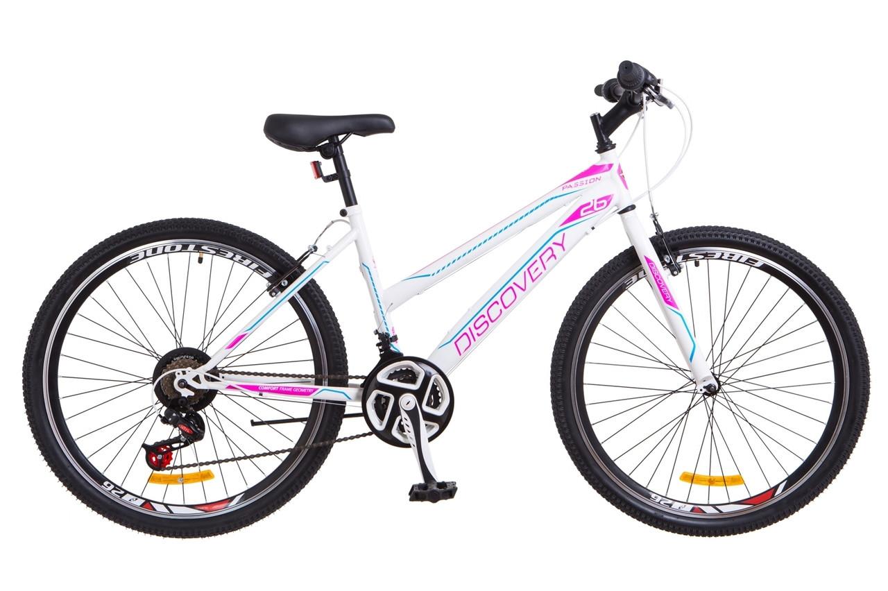Велосипед для девушек женский спортивный Дискавери Passion 26