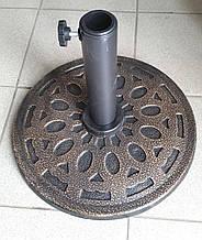 Подставка для зонта, диск, металл,  8,5 кг