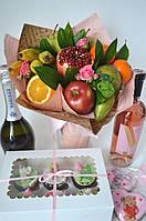 """Букет из фруктов и цветов """"Витаминчик 2"""" , фото 1"""
