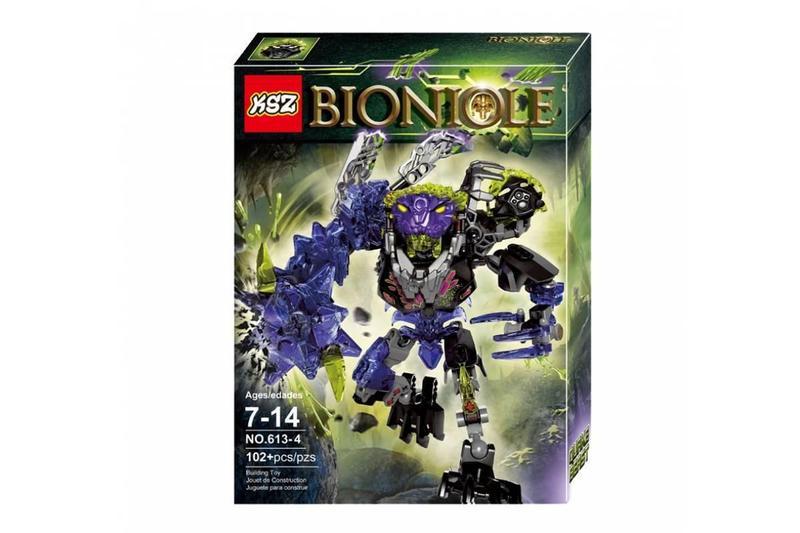 """Конструктор KSZ 613-4 Bionicle """"Монстр Землетрусів"""" 102 деталі. Аналог Лего 71315"""