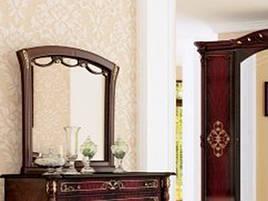 ДЗеркало на стіну з ДСП/МДФ у вітальню спальню Роселла Миро-Марк