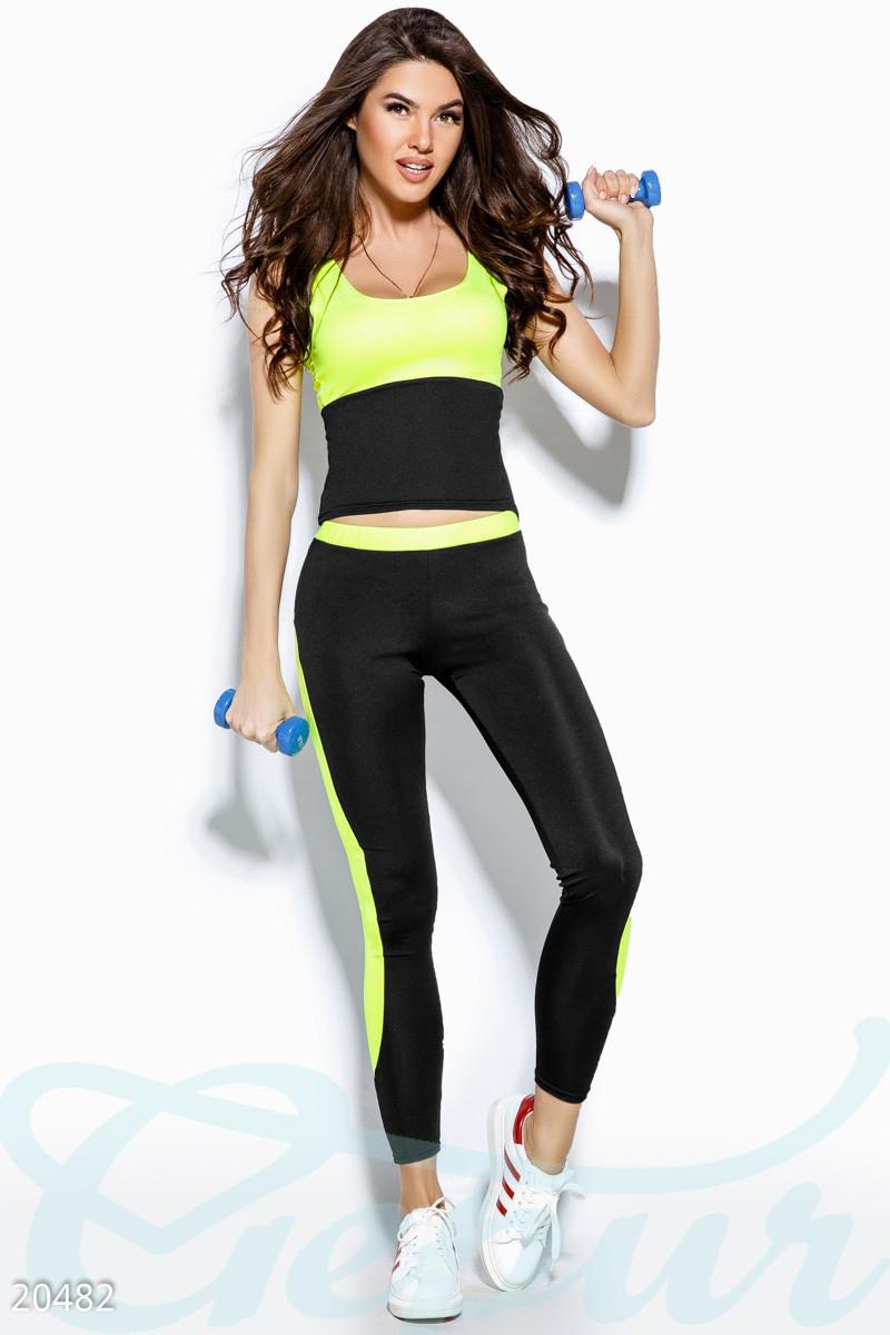 Спортивный костюм женский Gepur Inspire 20482, фитнес костюм для занятий в спортзале