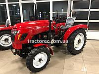 Трактор Xingtai XT244E, 3 цил, 4*4, 25 л.с, ГУР, 4х4, блокирование колес. Бесплатная доставка!