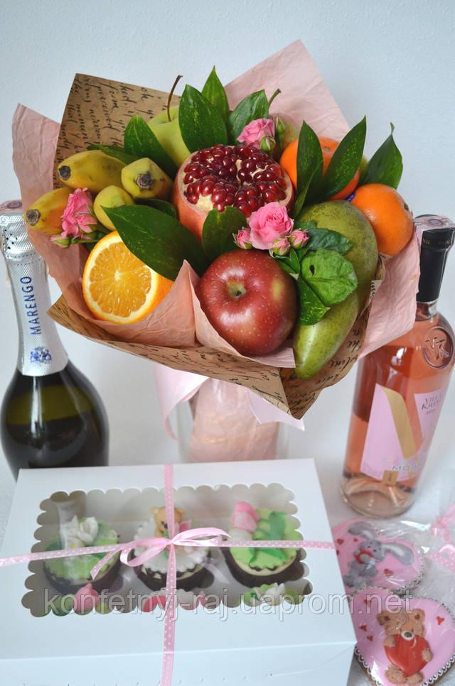 Заказать букет из фруктов в Харькове