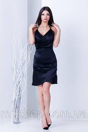 Женское атласное вечернее платье (Вилора mrb), фото 2