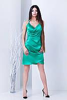 Женское атласное вечернее платье (Вилора mrb)