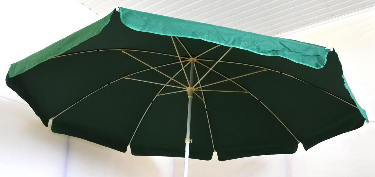 Зонт садовый, торговый, круглый,брезентовый, с клапаном, 3.5 м, мод-111W