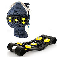 Ooutdoor 5 Шипованные Anti-Slip Ice Grip Spike Зимние прогулки Спортивная обувь Overshoes